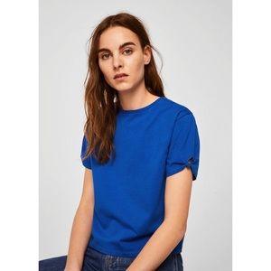 Mango knot cotton t-shirt